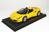 Ferrari F8 Tribute Spider yellow in 1:18 scale by BBR