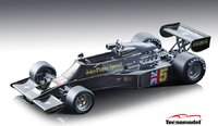Lotus 77 #5 1976 Japanese GP Winner Mario Andretti in 1:18 Scale by Tecnomodel