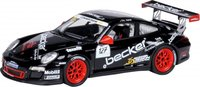 Porsche 997 GT3 Cup #127 Diecast Model Car in 1:43 Scale by Schuco