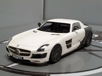 Mercedes-Benz SLS Brabus 700 Biturbo Diecast Model Car in 1:43 Scale by Schuco