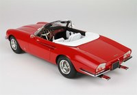 1966 Ferrari 365 California in Red Fine Resin Model Car in 1:18 Scale by BBR