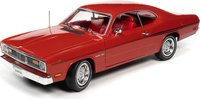 1970 Plymouth Duster Hardtop Hemmings Classic Car in 1:18 Scale by Auto World