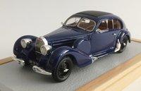1939 Bugatti T57/64 Coupe Aero-Dynamic Model Car in 1:43 Scale by Ilario