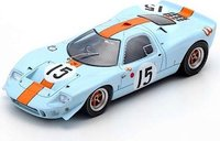 Mirage M1 #15 Jacky Ickx/Muir Le Mans 1967 in 1:43 scale by Spark