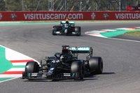 Mercedes AMG Lewis Hamilton F1 Winner Tuscan GP 2020 in 1:18 by Minichamps