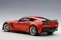 2016 Corvette C7 Z06 in Torch Red Model in 1:18 Scale by AUTOart