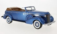 1937 Buick Roadmaster 80-C Phaeton in Blue 1:18 Sale by BoS Models