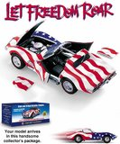 1969 Corvette Stars and Stripes Edition in 1:24 Scale