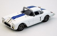 1960 Chevrolet Corvette No.1, Le Mans Briggs Cunningham, Bill Kimberly in 1:18 Scale by Replicarz1