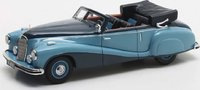 1948 Mercedes Benz 320A W142 Cabriolet Blue Model Car in 1:43 Scale by Matrix