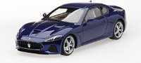 Maserati GranTurismo MC Blu Inchiostro in 1:18 scale by Topspeed