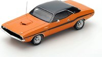 1970 Dodge Challenger R/T 426 Hemi Orange in 1:43 Scale by Spark