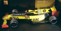 2010 RENAULT F1 TEAM  SHOWCAR Model Car in 1:18 Scale by Minichamps
