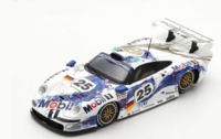 Porsche 911 GT1 #25 2nd Le Mans 1996 in 1:43 Scale by Spark