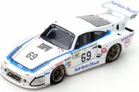 Porsche 935 L1 n.69 Le Mans 1981 Resin Model Car in 1:43 Scale by Spark