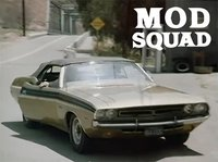 1971 Dodge Challenger 340 Convertible The Mod Squad in 1:18 Scale by Greenlight