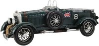 1930 Blower 4.5L LeMans Car Model by Old Modern Handicrafts