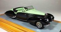 1938 Bugatti T57C Aravis Gangloff sn57710 Current Car Model Car in 1:43 Scale by Ilario