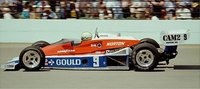 "1979 Cosworth ""The Gould Charge"", Winner Indianapolis 500, Rick Mears in 1:18 scale by Replicarz"