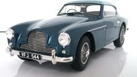1955 Aston Martin DB2-4 MKII blue FHC Notchback in 1:18 scale by Cult models