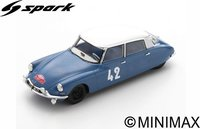 Citroën DS19 No.42  4th Monte Carlo Rally 1963  Lucien Bianchi - Jean-Claude Ogier in 1:43 scale by Spark