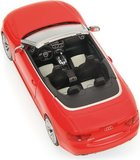 2012 AUDI RS5 CABRIOLET in  RED Model Car in 1:43 Scale by Minichamps