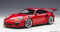 Porsche 911 (991) GT3 RS in Red in 1:18 Scale by AUTOart