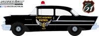 1957 Chevrolet 150 Sedan Ohio State Highway Patrol in 1:18 Scale by Highway 61
