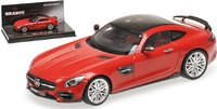 2016 BRABUS Mercedes 600 AUF AMG GTS Model Car in 1:43 Scale by Minichamps