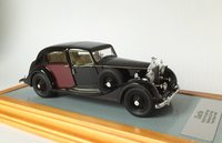 1937 Rolls Royce Phantom III Sedanca De Ville Park Ward sn3CP192 Resin Model Car in 1:43 Scale by Ilario