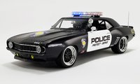 1969 Chevrolet Camaro Street Fighter Police Interceptor in 1:18 Scale by GMP