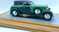 1926 Mercedes-Benz 630K Transformable Torpedo Saoutchik Close top Resin Model Car in 1:43 Scale by Ilario