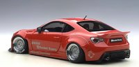 Rocket Bunny Toyota 86 Red w Silver Wheels by AUTOart in 1:18 Scale
