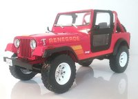 1983 Jeep CJ-7 Renegade  with Sarah Connor Figure in 1:18 Scale by Greenlight