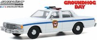 1980 Chevrolet Caprice Police Car (Groundhog Day Movie 1983) in 1:43 scale by Greenlight