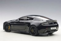 2015 Aston Martin V12 Vantage S in Jet Black Diecast Model Car in 1:18 Scale by AUTOart