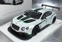 Bentley Continental GT3 Model Car in 1:18 Scale by True Scale Miniatures