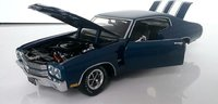 1970 Chevrolet Chevelle SS, Blue in 1:24 scale by The Franklin Mint