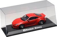 Clear Cover & Base Plate Set, Rocket Bunny Display Case in 1:18 Scale by AUTOart