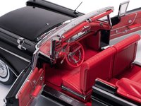 1959 Mercury Parklane Convertible in Black Diecast Model Car in 1:18 Scale by Sun Star