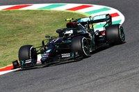 Mercedes-AMG Formula One Tuscan GP 2020 Valterri Bottas in 1:18 Scale by Minichamps