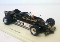 Lotus 88 Presentation Car #11 Colin Chapman 1981 in 1:43 scale by Spark