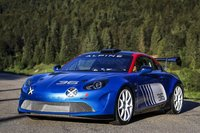 Alpine A110 RGT Rallye Mt Blanc in 1:18 Scale by Solido