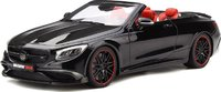 Brabus 850 S Class Cabrio Resin Model in 1:18 Scale by GT Spirit