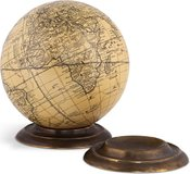 Globe Base, Bronze by Authentic Models