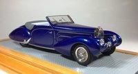 1938 Bugatti T57C Aravis Gangloff sn57710 Original Car Model Car in 1:43 Scale by Ilario