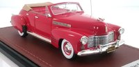 1941 Cadillac Series 62 Convertible (TOP DOWN) in 1:43 Scale by GLM