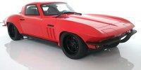 1966 Corvette Custom Red Resin Model Car in 1:18 Scale by GT Spirit