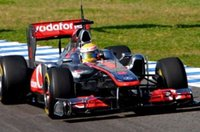VODAPHONE MCLAREN MERCEDES MP4-26 JENSON BUTTON 2011 Race Version Diecast Model Car in 1:43 Scale by Minichamps