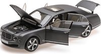 Bentley Mulsanne Speed Dark Grey Satin Diecast Model in 1:18 Scale by Kyosho